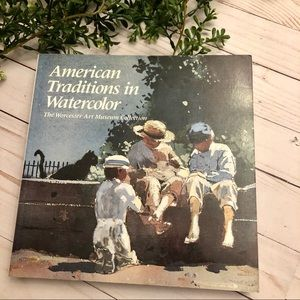American Traditions in watercolor book